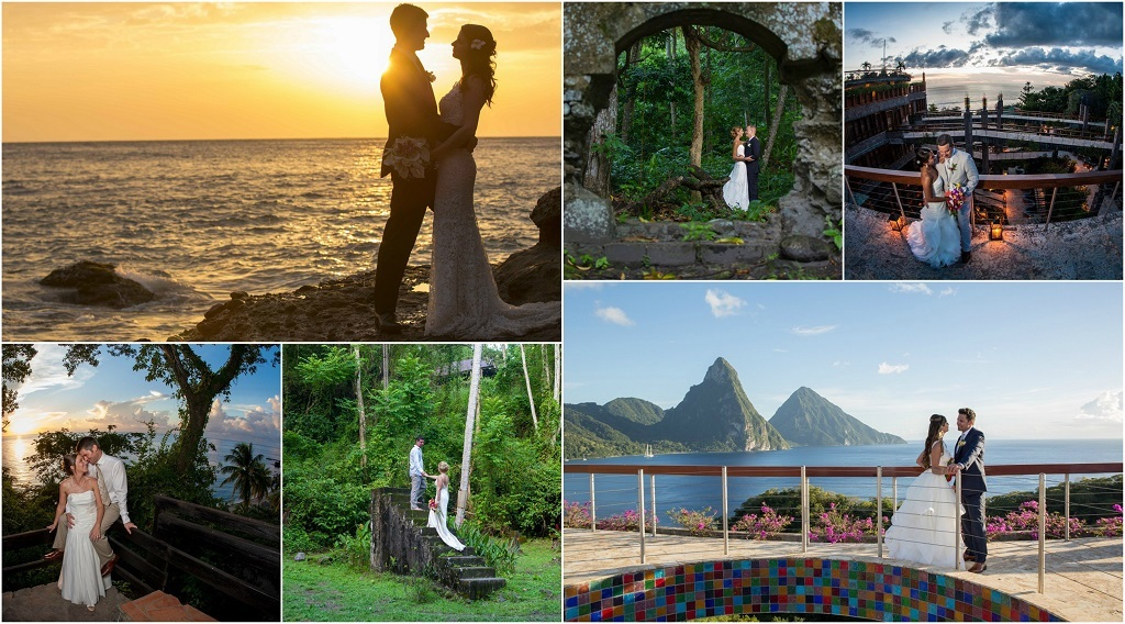 Wedding Couple Jade Mountain