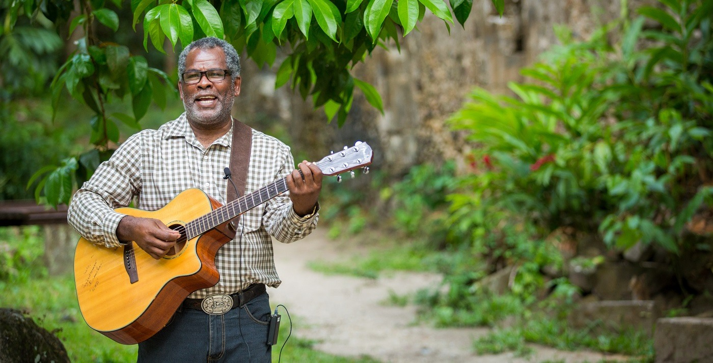 Music at Anse Chastanet